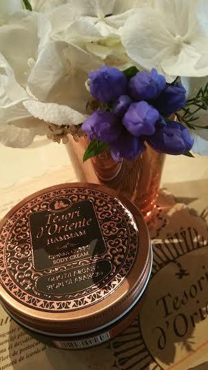 Crema de corp Hammam - Tesori d'Oriente