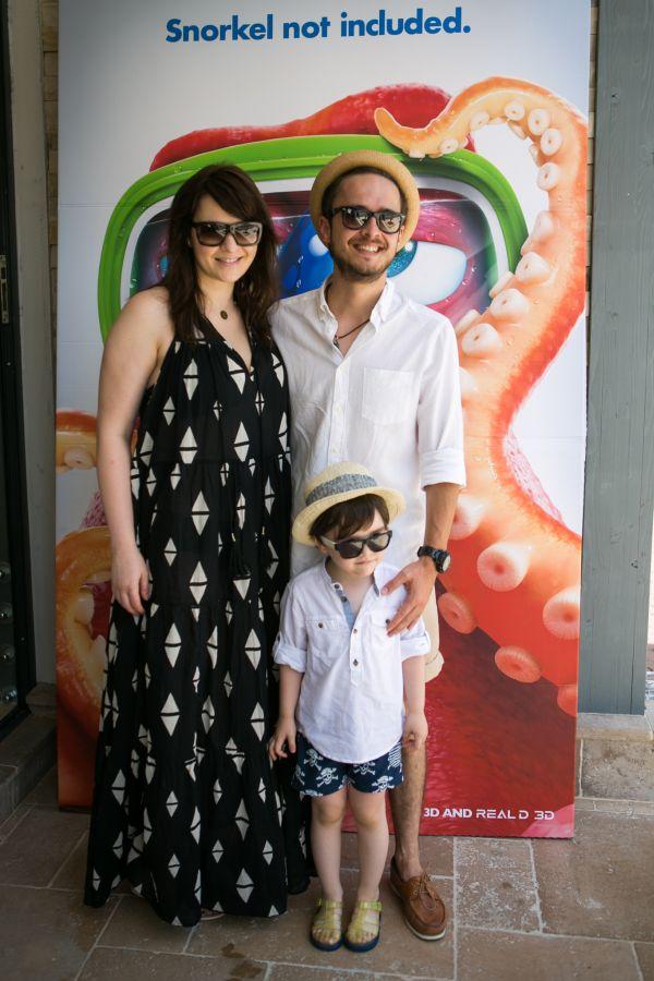 Serban Copot si familia