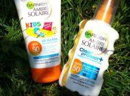 Protecție solară: Garnier Ambre Solaire 50 SPF Kids, Anti-Sand și UV Sport