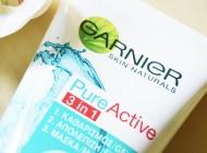 Detox pentru piele: Garnier Pure Active 3in1