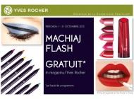 Campania Make Up Days: machiaj gratuit de la Yves Rocher