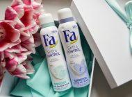 Noile deodorante Fa Soft&Control